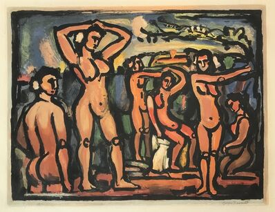 Georges Rouault, 'Autumn (Bathers)', ca. 1938