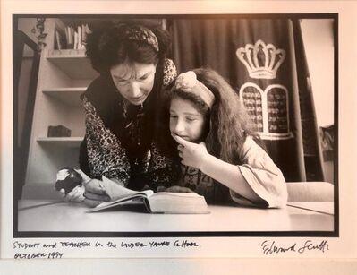 Edward Serotta, 'Photo Student, Teacher Lander School Budapest Vintage Silver Gelatin Photograph ', 1990-1999