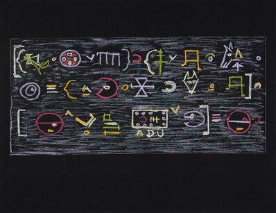 Edwin Tanner, 'Untitled (logic)', 1960's