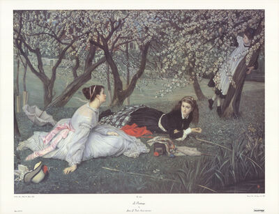James Jacques-Joseph Tissot, 'Le Printemps', 1990