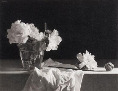 Josep Santilari, 'The artist. Flowers', 2018