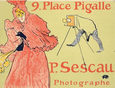Henri de Toulouse-Lautrec, 'P. Sescau / Photographe.', 1896