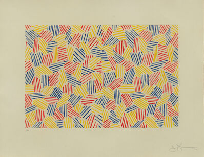 Jasper Johns, 'Untitled I', 1976