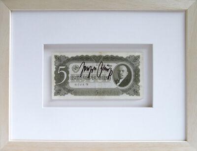 Joseph Beuys, '5 Rubel (Kunst = Kapital)', 1937