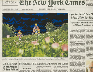 Fred Tomaselli, 'Apr. 29, 2009', 2010