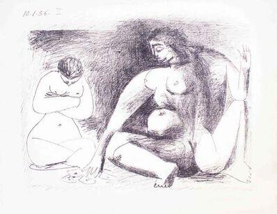 Pablo Picasso, 'Deux Femmes Accroupies', 1956