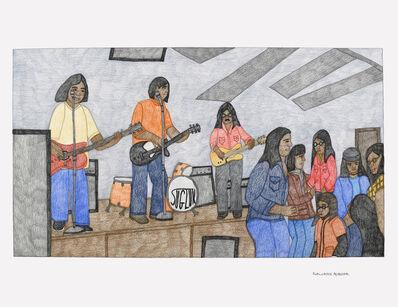 Kudluajuk Ashoona, 'Untitled (Band Playing)', 2019
