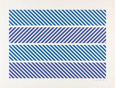 Bridget Riley, 'Untitled (Schubert 19)', 1973