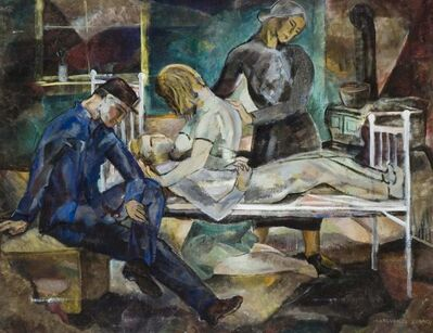 Marguerite Zorach, 'Death of a Miner', ca. 1930