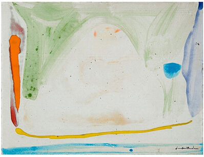 Helen Frankenthaler, 'Thanksgiving Day ', 1973