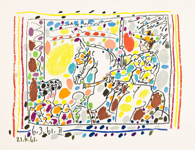 Pablo Picasso, 'Picador II', 1961