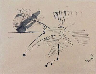 Bram Bogart, 'Untitled - informal drawing', 1958