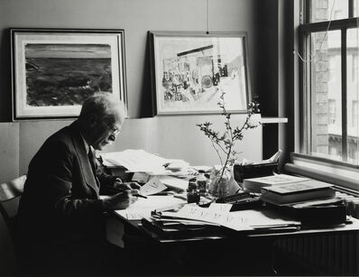 Ansel Adams, 'Alfred Stieglitz, at An American Place', 1938