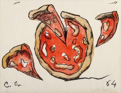 Claes Oldenburg, 'Flying Pizza, from New York Ten', 1964