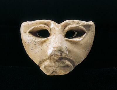 Unknown Sumerian, 'Ancient Sumerian Gypsum Mask', Middle of the 3rd Millennium B.C.