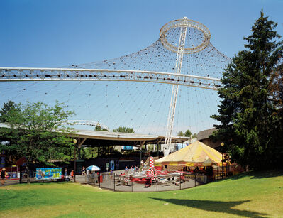 "Jade Doskow, 'Spokane 1974 World's Fair, ""Celebrating Tomorrow's Fresh New Environment,"" USA Pavilion', 2007"