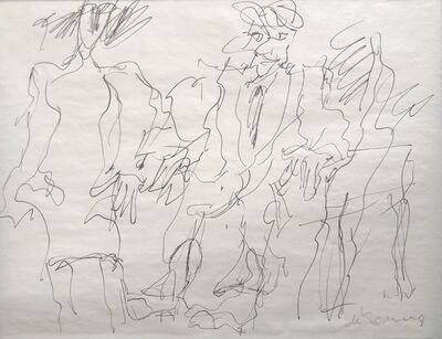 Willem de Kooning, 'Three figures'