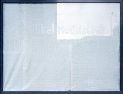 Sabine Hornig, 'Radikal Reduziert', 2004