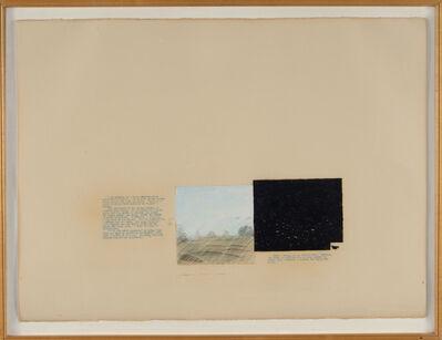 Vernon Fisher, 'President's Gold Lesson (Sandtrap)', 1980