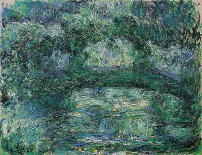 Claude Monet, 'The Japanese Bridge', 1918-1924