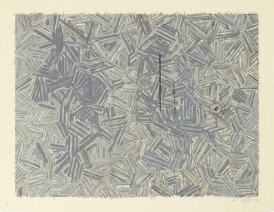 Jasper Johns, 'The Dutch Wives ', 1977