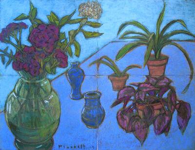 Joseph Plaskett, 'Still Life on Blue', 2009