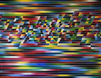Fabián Burgos, 'Velocidad con cortes', 2016