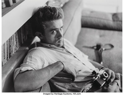 Roy Schatt, 'James Dean, Photography Lesson', 1954