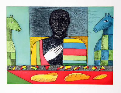 Mimmo Paladino, 'Mathematico 6', 2001