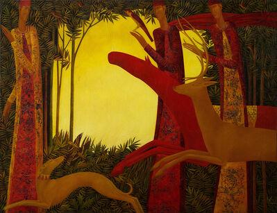 Timur D'Vatz, 'Hunters in the Woods', 2016