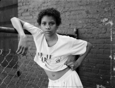 Dawoud Bey, 'A Girl with School Medals', 1988