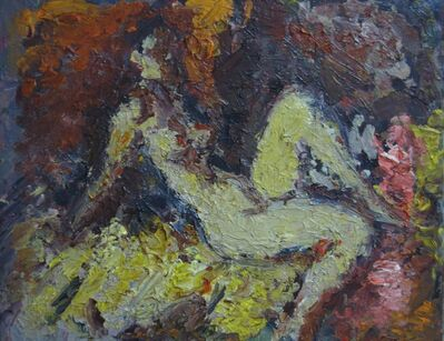 Aron Froimovich Bukh, 'Nude', 1991
