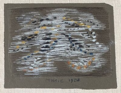 Zoran Antonio Mušič, 'Untitled (Abstract)', 1958