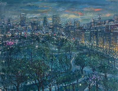 Bruno Zupan, 'The Public Gardens at Twilight', 2019