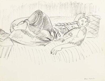 Henri Matisse, 'Odalisque Étendue', 1928