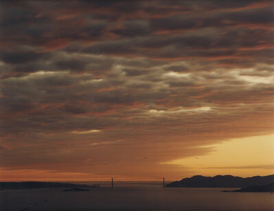 Richard Misrach, 'Golden Gate Bridge, 4.11.99, 7:42 P.M', 1999