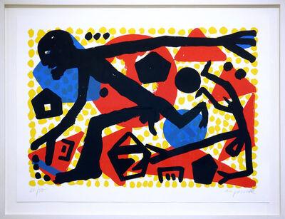 A.R. Penck, 'Westsprung', 1990