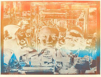 Romare Bearden, 'Memories', 1974