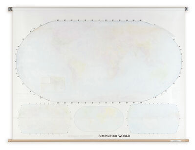 Agustina Woodgate, 'Simplified World', 2014