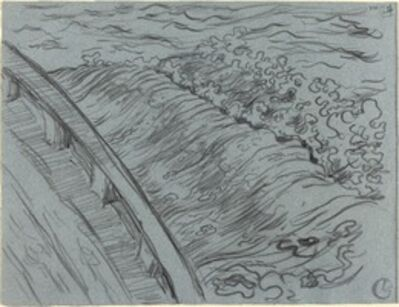 Georges Lacombe, 'The Sea Off the Edge of a Boat, Brittany', 1894