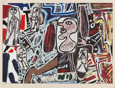 Jean Dubuffet, 'Faits mémorables III (Memorable Events III)', 1978