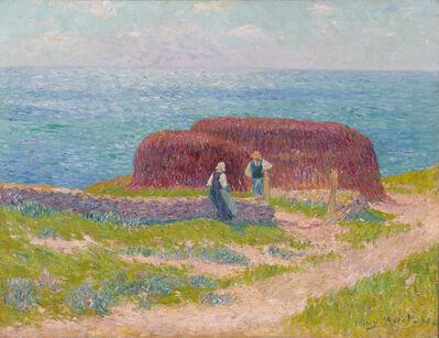 Henry Moret, 'Ramasseuses de Goémon', 1898