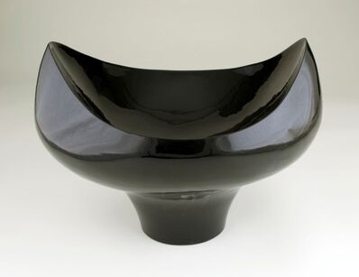 """Eric Boos, '""""Black Bowl for Colorful Contents""""', 2015"""