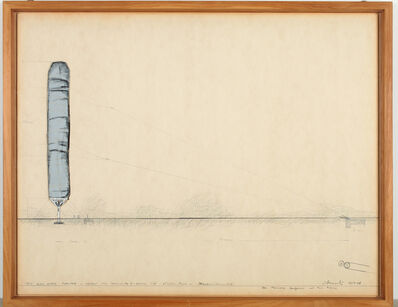 Christo and Jeanne-Claude, '5600 Cubic Meter Package  Project for Documenta 4, Kassel', 1967