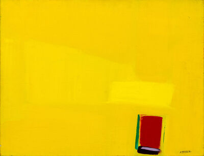 Jamil Molaeb, 'Abstract in Yellow', ca. N/A