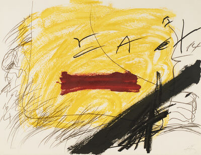 Antoni Tàpies, 'Untitled', 1973
