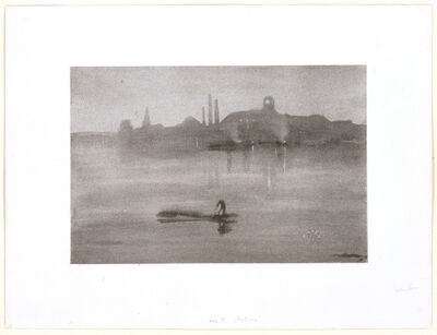 James Abbott McNeill Whistler, 'Nocturne: The River at Battersea', 1878