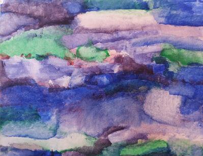 Ingela V. Lindgren, 'Blue Landscape', 2015