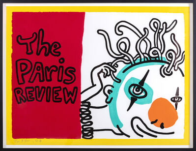 Keith Haring, 'The Paris Review', 1989