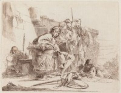 Giambattista Tiepolo, 'Seated Youth Leaning against an Urn', 1740/1743